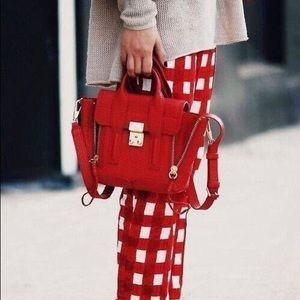 NEW authentic 3.1 Philip Lim Pashli Red bag medium